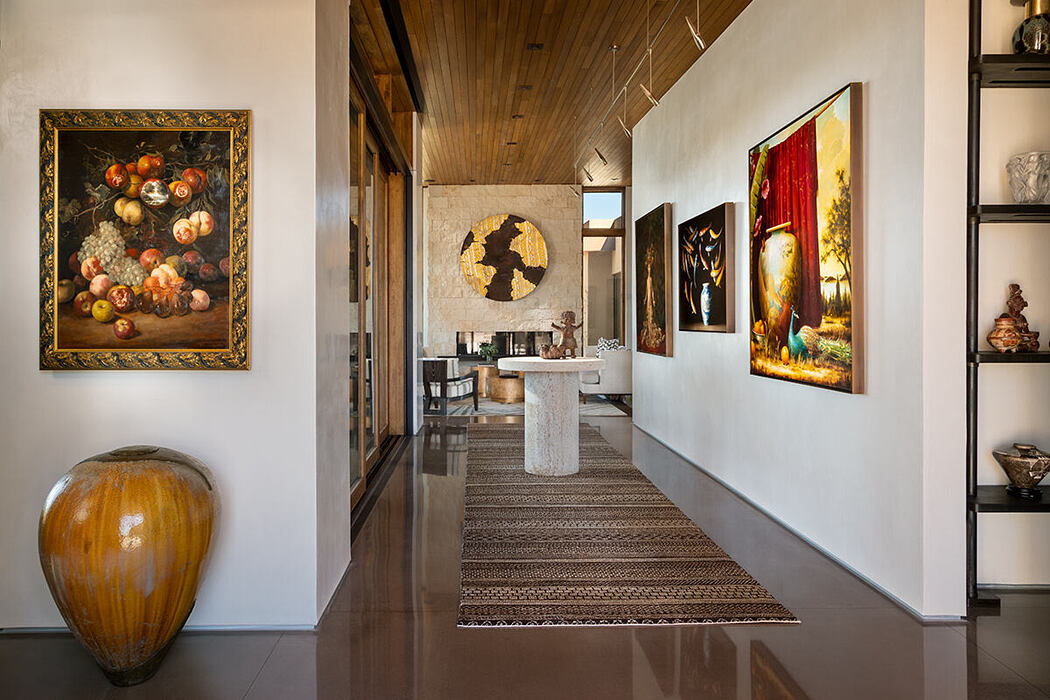 Santa Fe Modern Home by Prewitt Design