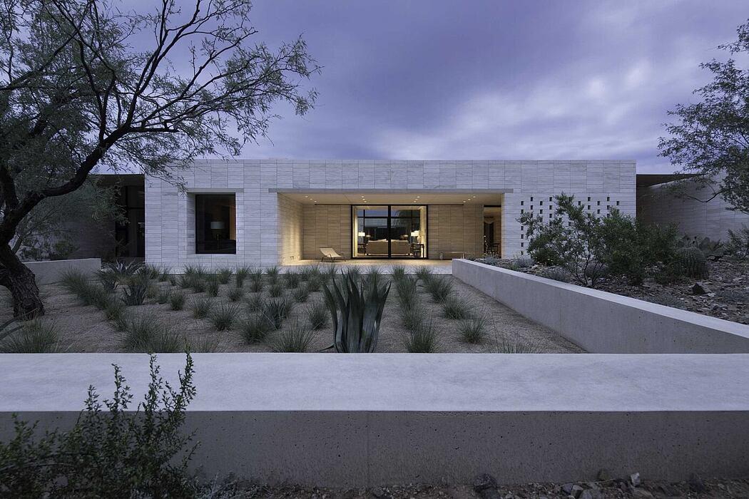 Stone Court Villa by Marwan Al-Sayed