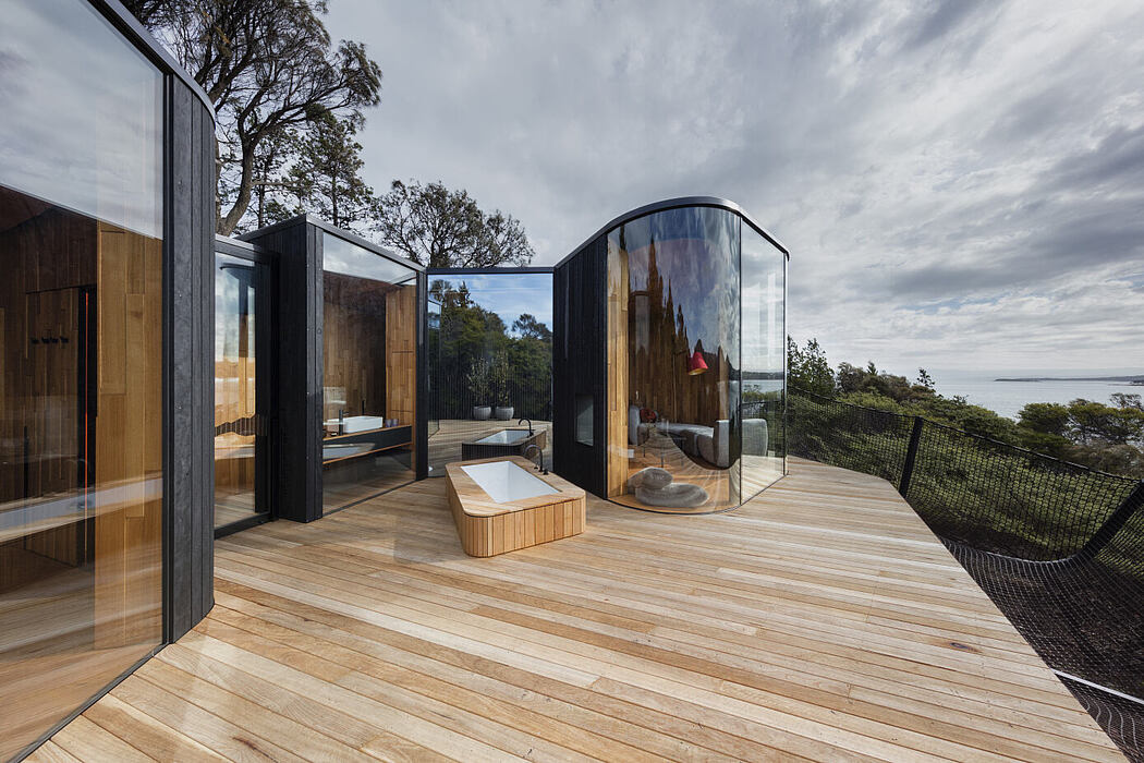 Freycinet Lodge Coastal Pavilions by Liminal Studio - 1