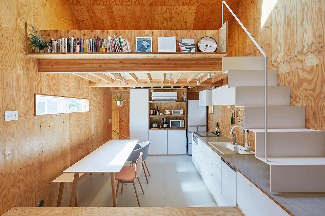 Milk Carton House by Tenhachi Architedt & Interior Design