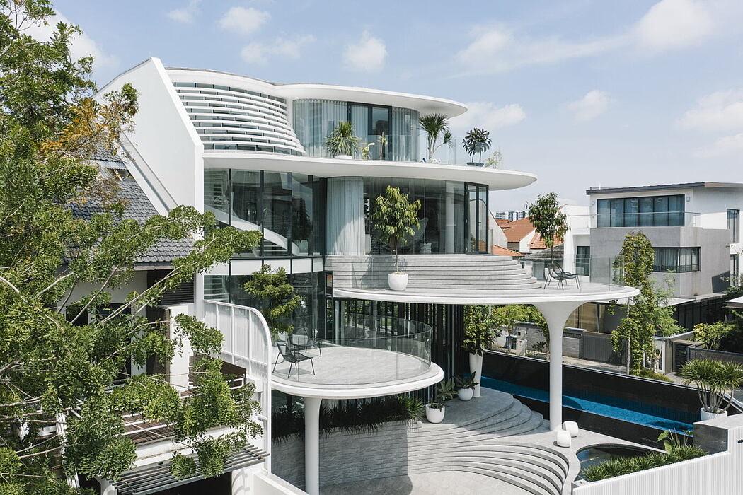 Stiletto House by Ehka Studio