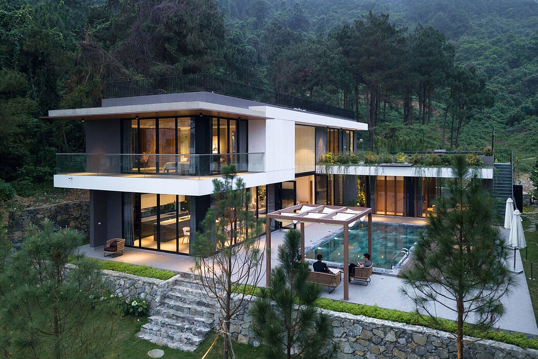 Uspace Villa Tam Dao by Idee Architects Vietnam