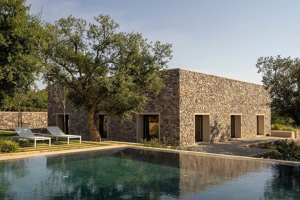 Stone House by Emilio Tuñón Architects