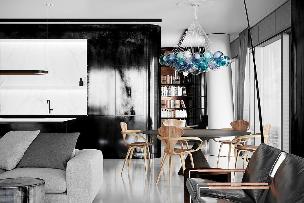 Cosmo Apartment by Blackhaus