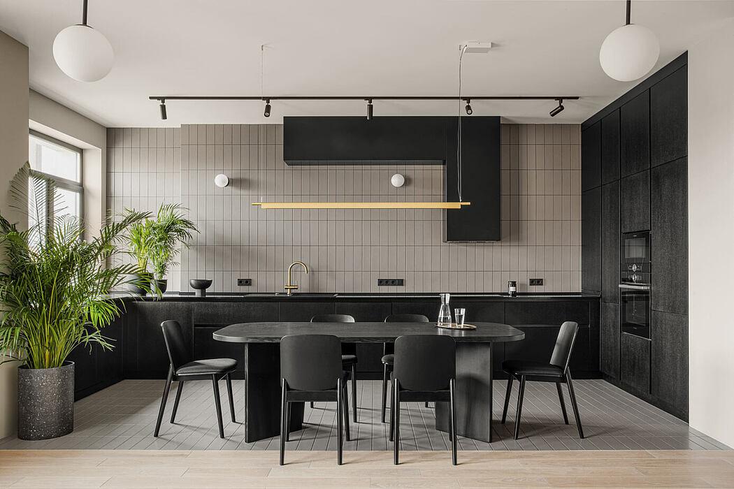 T4 Apartment by Paliychuk Olga Design
