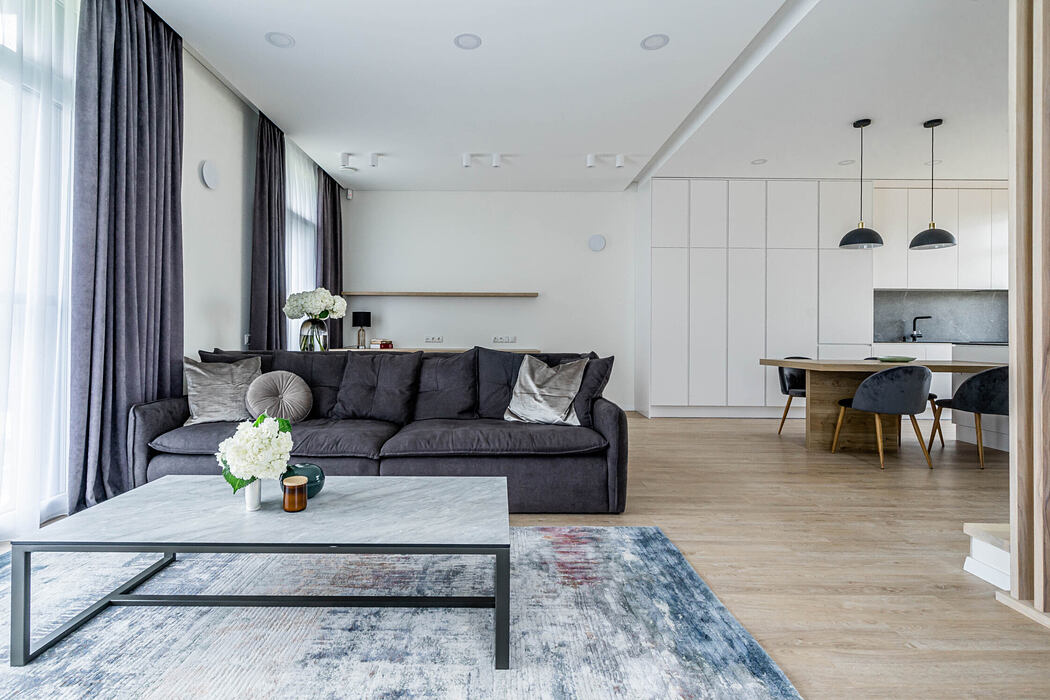 Minimalist Apartment by Home Stories LT