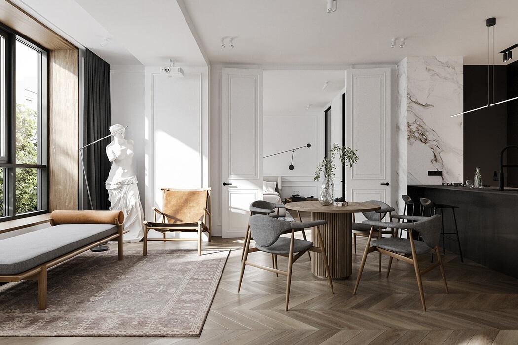 Granville Apartment by Cartelle Design