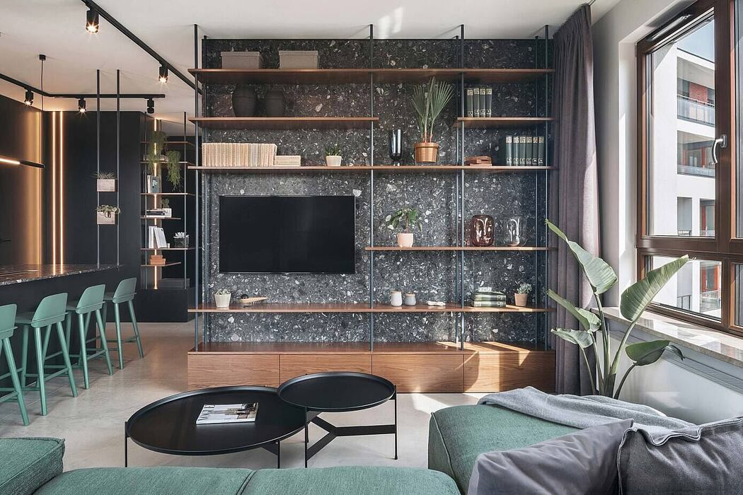 Apartment in Warsaw by Kando Architects