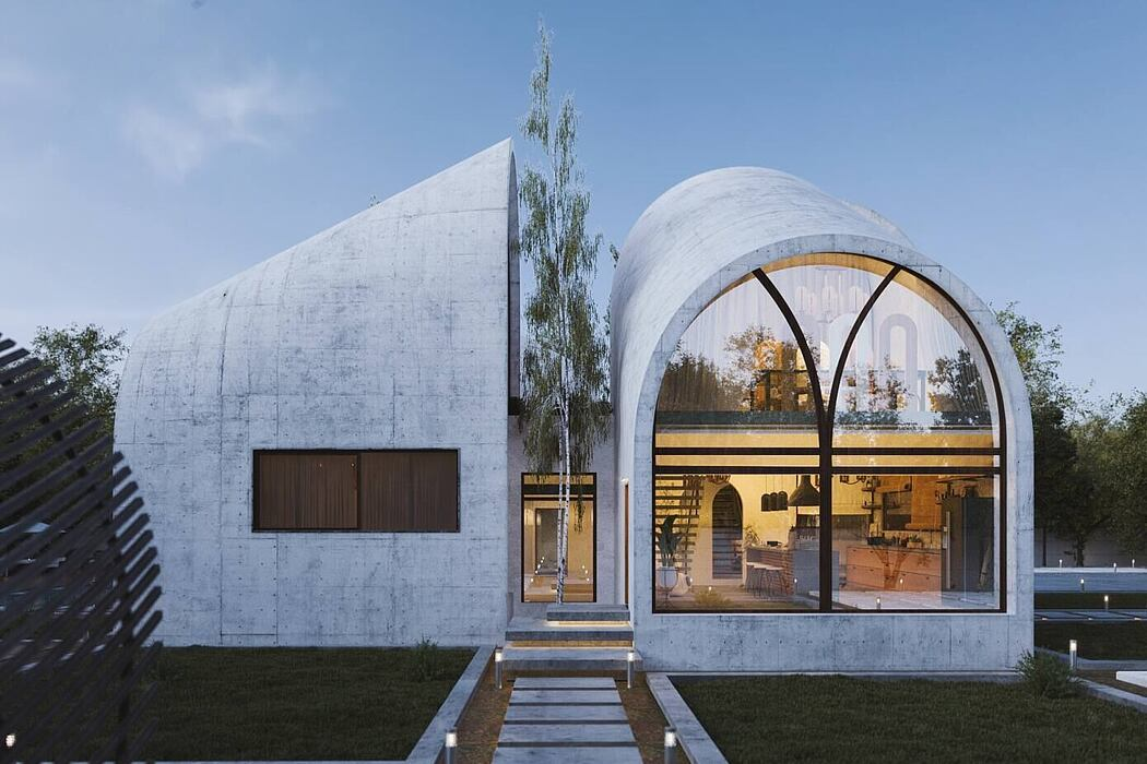 Arc House by M.E Architecture Studio