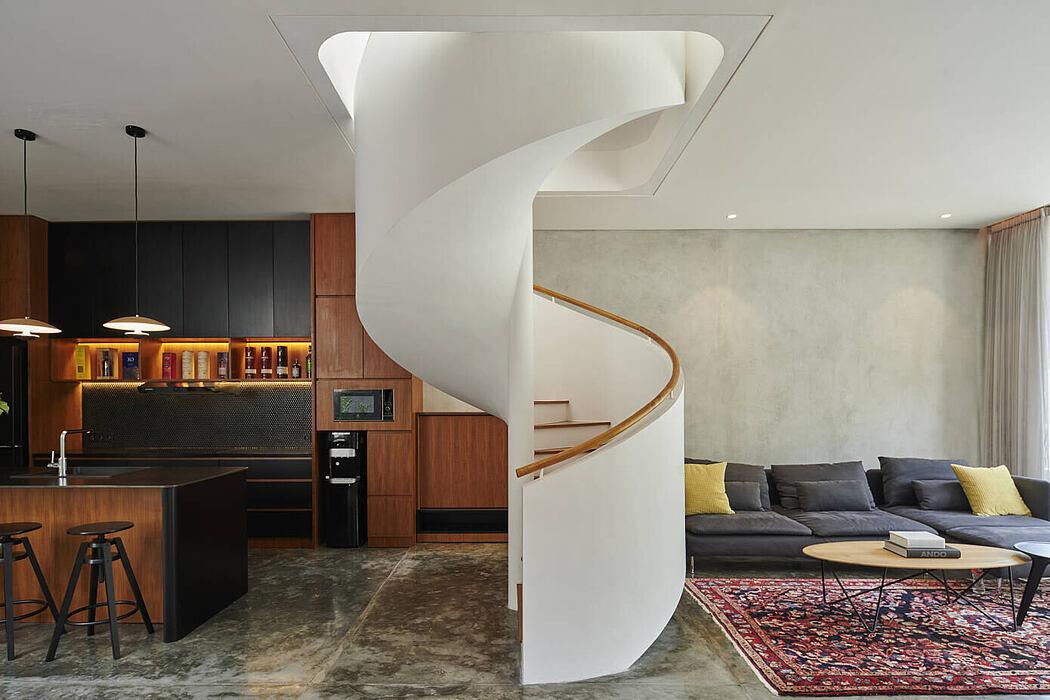 Breeze Blocks House by Tamara Wibowo Architects