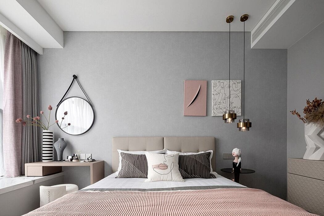 Greentown Show Flat by Qiran Design Group