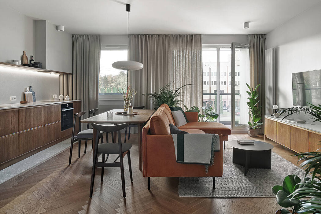 Opacka Apartment by Raca Architekci
