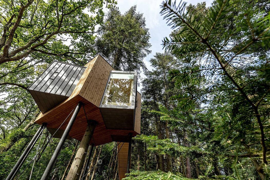 Lovtag Treetop Hotel by Sigurd Larsen