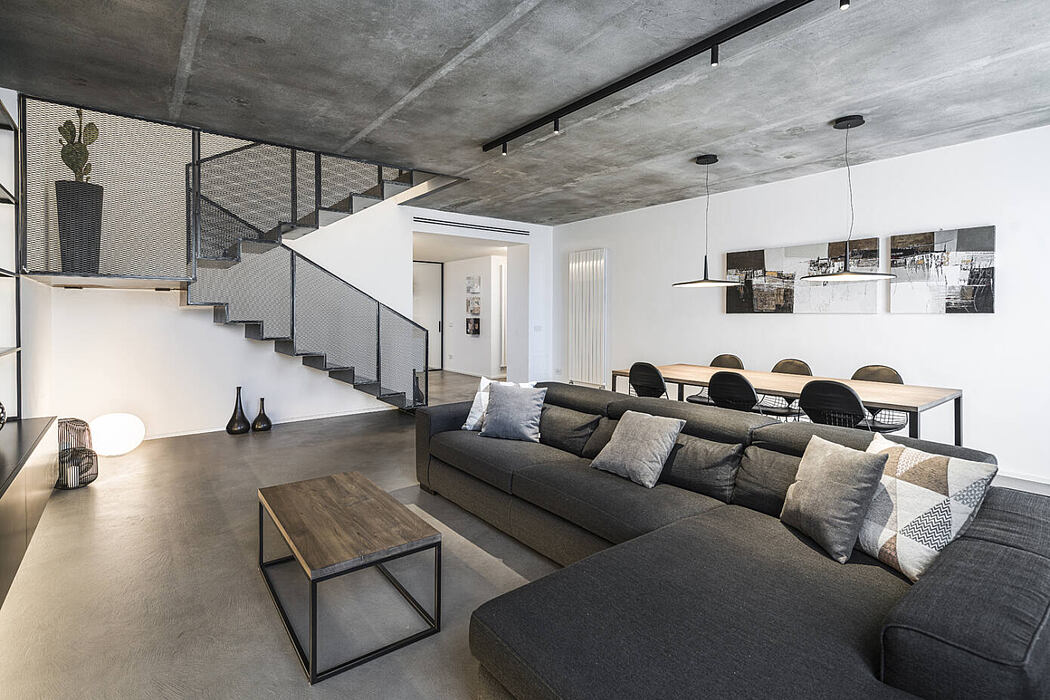 Industrial Style Apartment by CMT Architetti