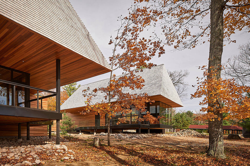 Bigwin Island Club Cabins by Mackay-lyons Sweetapple Architects