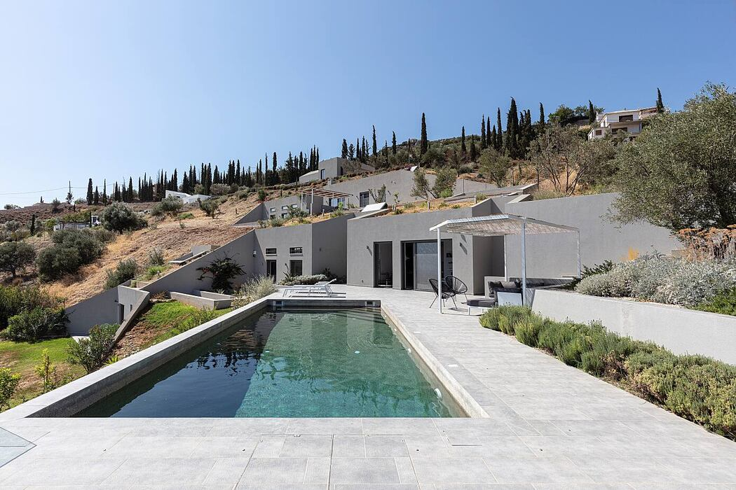 House Complex at Tolo by Sotiris Anyfantis