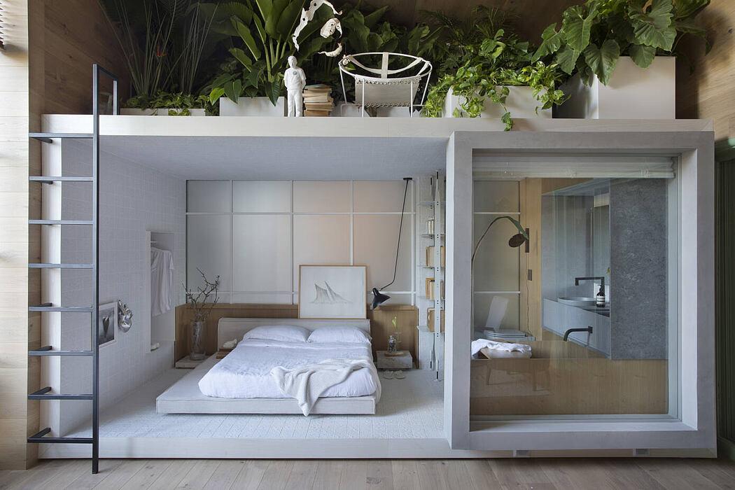 Ninho Loft by Nildo José + Arquitetos Associados