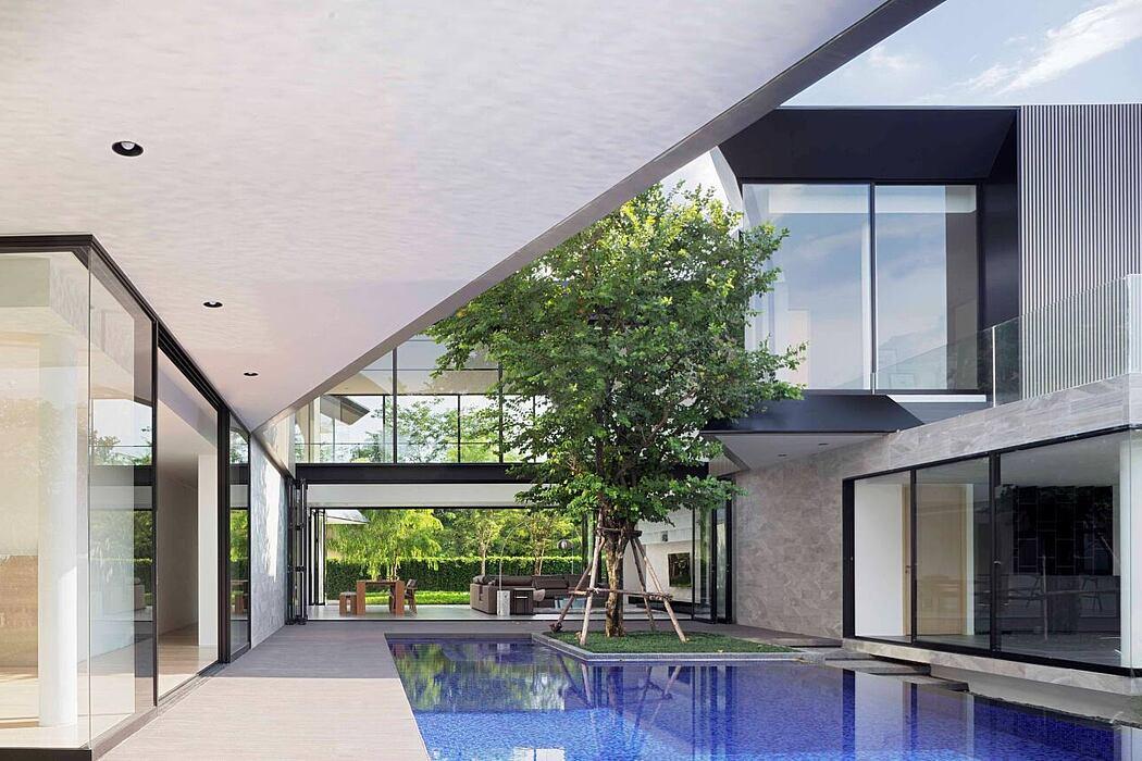 Aluminium House by AAd | Ayutt and Associates design