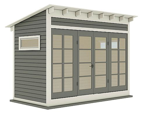 Everything You Need to Know About Creating an Off-Grid Outdoor Office  Shed