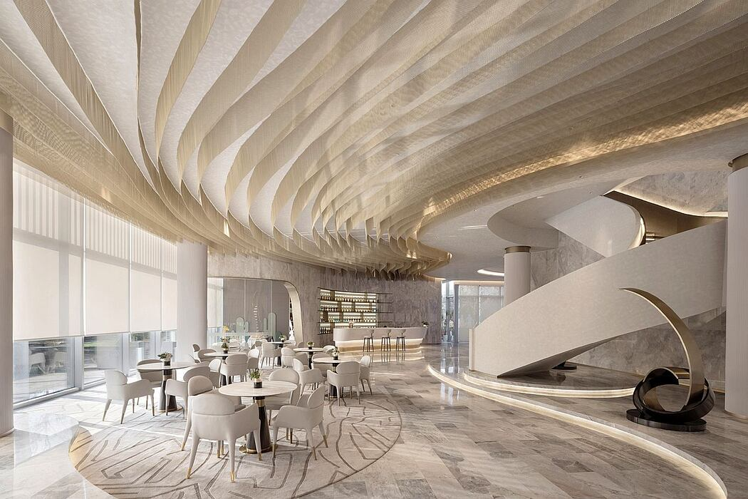 The Osmanthus Grace by Qiran Design Group