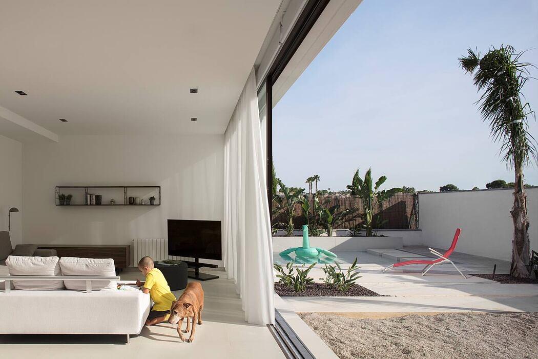 Modular Concrete House by Trazia