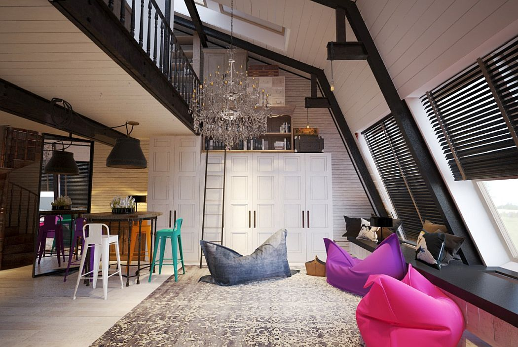 Manhattan Loft in Moscow by INRE - 1