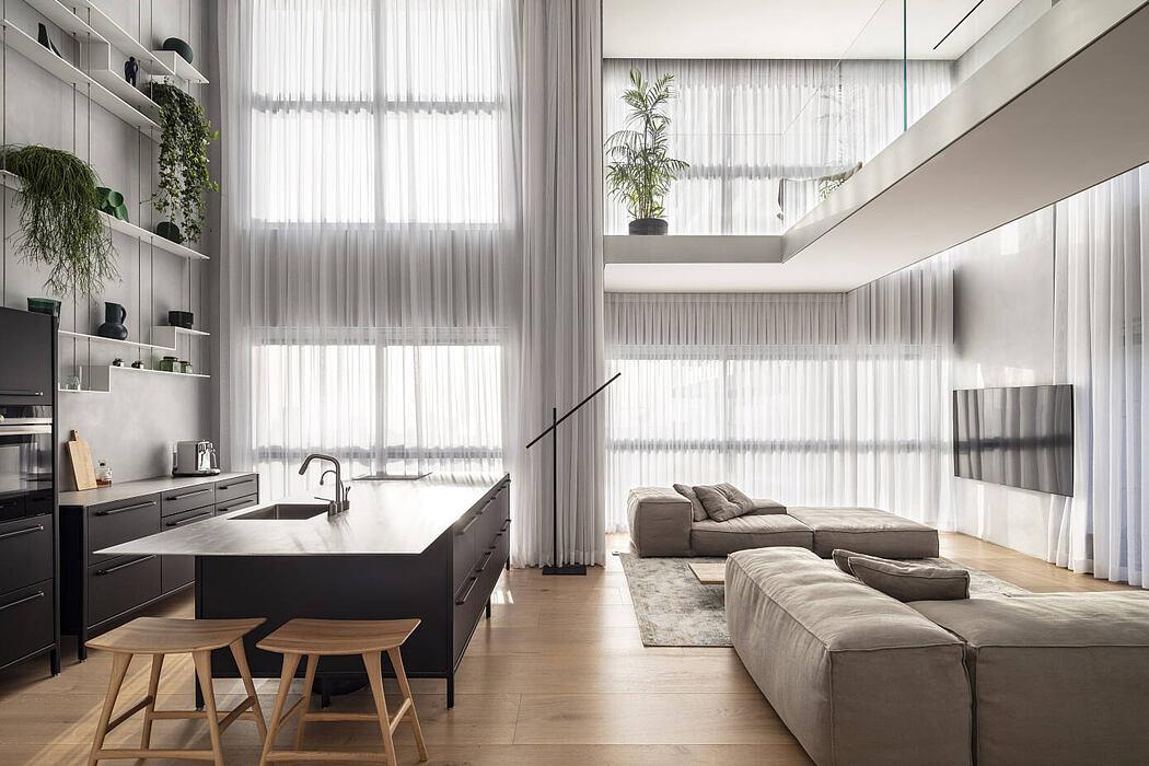 The Glass Blocks Duplex by Tal Goldsmith Fish Design Studio
