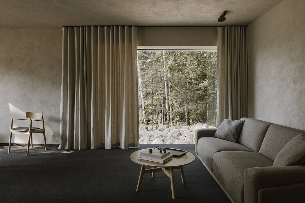 Apartments in Wolf Clearing by Studio de.materia